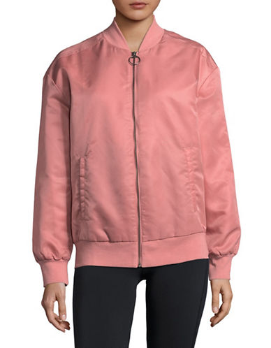 Reebok Favourite Bomber Jacket-PINK-Medium