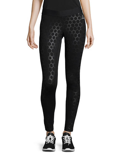 Reebok Hexawarm Tights-BLACK-X-Large