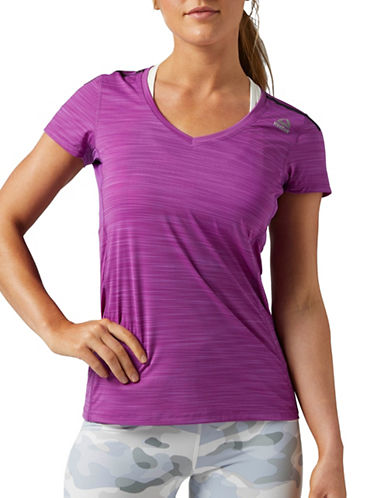Reebok Activchill Tee-PURPLE-X-Small
