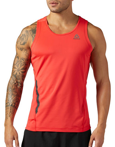 Reebok Running Speedwick Singlet-RED-Medium