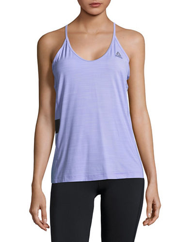 Reebok Act Tank Top-PURPLE-Small
