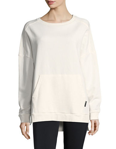 Reebok Favorite Cotton Pullover-CHALK-Small
