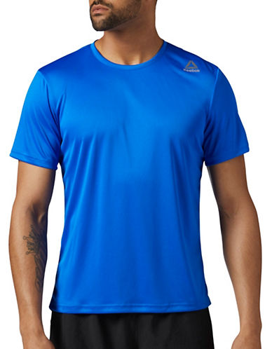 Reebok Running Tee-BLUE-Small