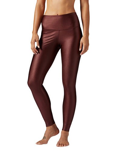 Reebok Face X Leggings-MAROON-Small