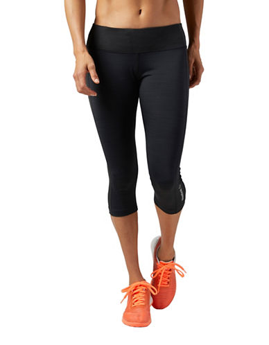 Reebok AC Capri Tights-BLACK-Small