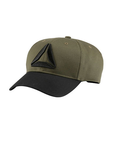 Reebok Active Enhanced Cotton Baseball Cap-GREEN-One Size