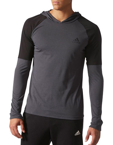 Adidas Ultimate Hooded T-Shirt-BLACK-Medium 88890721_BLACK_Medium