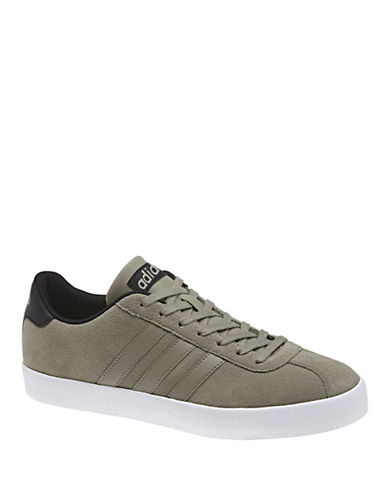 Adidas VL Court Vulc Sneakers-GREY-11.5