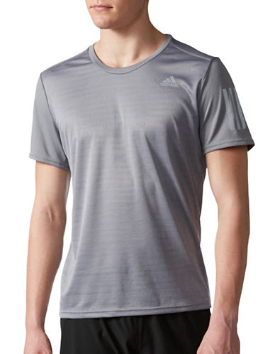Adidas Response Running T-Shirt-GREY-Small 89036271_GREY_Small