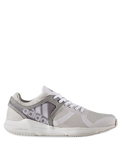 Adidas Womens CrazyTrain Cloudfoam Athletic Sneakers-GREY-6