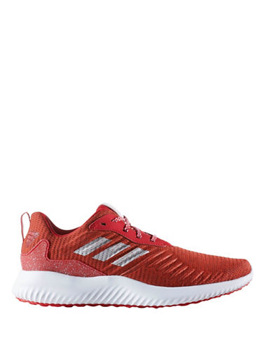 Adidas Alphabounce Running Shoes-RED-8
