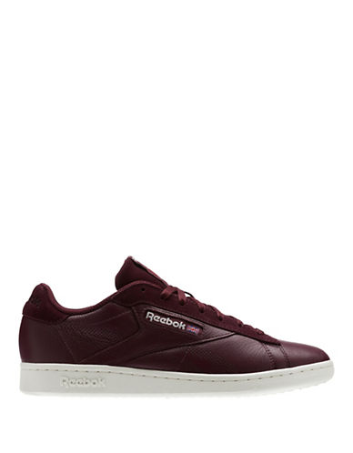 Reebok NPC UK PFR Leather Sneakers-RED-9