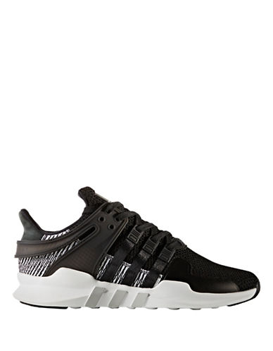 Adidas Originals Support Lace-Up Sneakers-BLACK-9.5
