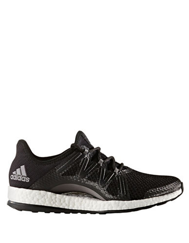 Adidas Womens PureBOOST Xpose Athletic Sneakers-BLACK-8