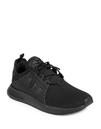 Adidas Originals X PLR Shoes-BLACK-8.5
