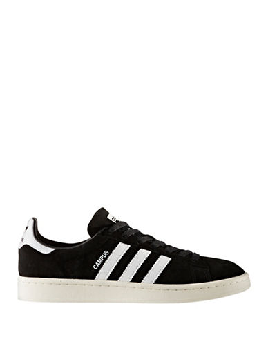 Adidas Originals Campus Sneakers-BLACK-10.5