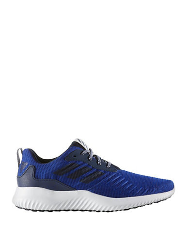 Adidas Alphabounce Running Shoes-BLUE-9