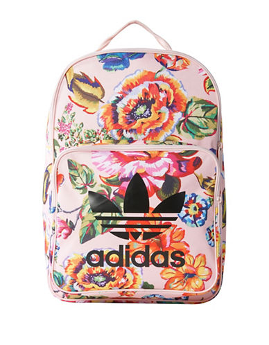 Adidas Floral Classic Backpack-MULTI-One Size