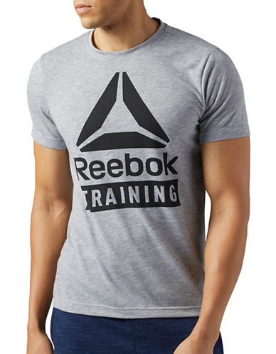 Reebok Training Speedwick T-Shirt-GREY-XX-Large