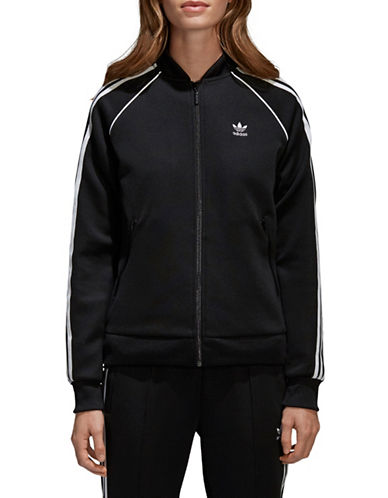 Adidas Originals SST Track Jacket-BLACK-X-Small
