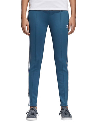 Adidas Originals SST Track Pants-BLUE-X-Small