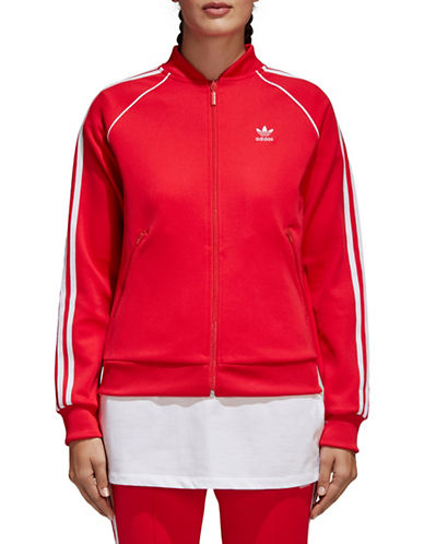 Adidas Originals SST Track Jacket-RED-Medium