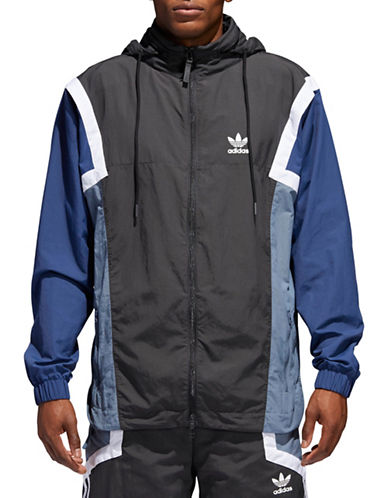 Adidas Originals Nova Windbreaker-GREY-Large