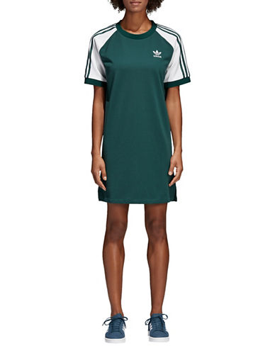 Three Stripes Shirtdress by Adidas Originals