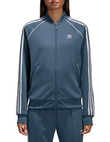 Adidas Originals SST Track Jacket-BLUE-X-Small