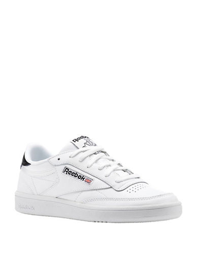Reebok Club C Embossed Low-Cut Sneakers-WHITE-9
