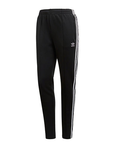 Adidas Originals SST Track Pants-BLACK-X-Large
