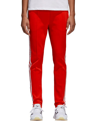 Adidas Originals SST Track Pants-RED-Small