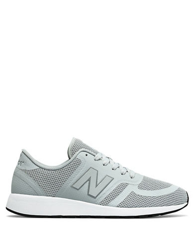 New Balance Mens Revlite 420 Running Sneakers-GREY-10W