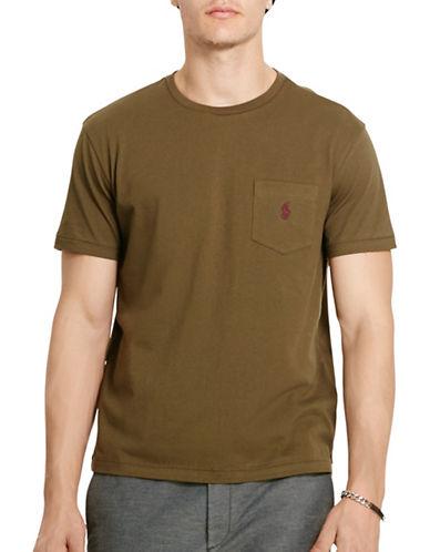 Polo Ralph Lauren Jersey Pocket Crew Neck T-Shirt-DEFENDER GREEN-X-Large 88449579_DEFENDER GREEN_X-Large