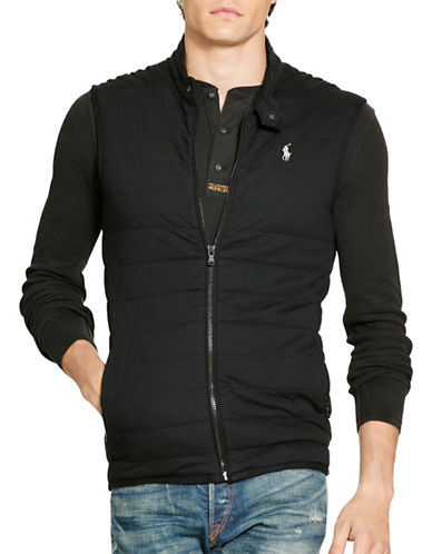 Polo Ralph Lauren Pima Cotton Interlock Vest-POLO BLACK-Large 88526760_POLO BLACK_Large