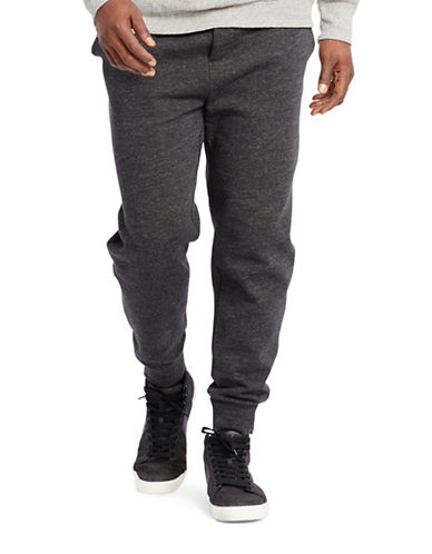Polo Ralph Lauren Big and Tall Cotton-Blend-Fleece Pants-BLACK-Large Tall 88484083_BLACK_Large Tall