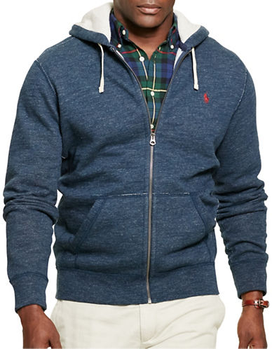 Polo Ralph Lauren Cotton-Blend-Fleece Hoodie-BLUE ECLIPSE-4X Tall 88833706_BLUE ECLIPSE_4X Tall