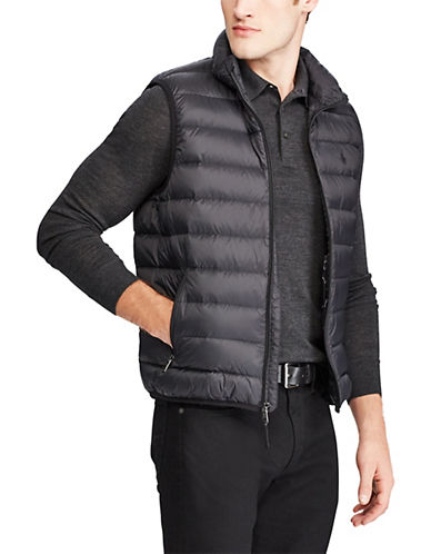 Polo Ralph Lauren Packable Down Vest-POLO BLACK-X-Large