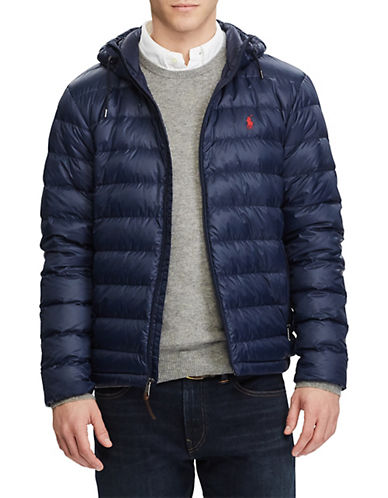 Polo Ralph Lauren Packable Down Jacket-AVIATOR NAVY-Small