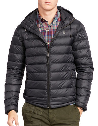 Polo Ralph Lauren Packable Down Jacket-POLO BLACK-XX-Large