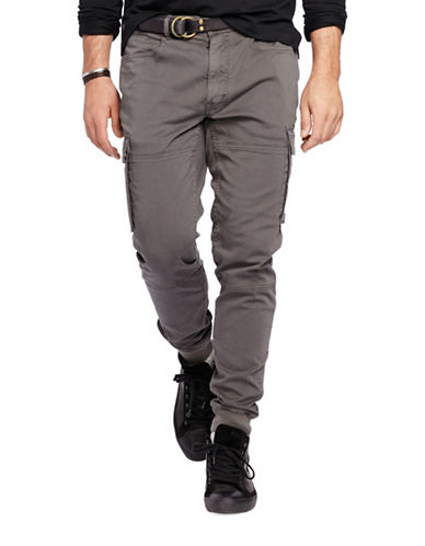 Polo Ralph Lauren Big and Tall Cargo Jogger Pants-VINTAGE GREY-44X30 88483363_VINTAGE GREY_44X30