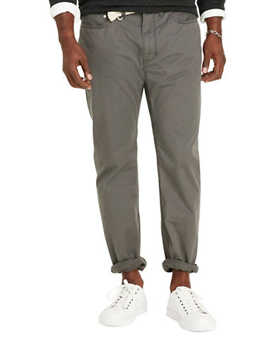 Polo Ralph Lauren Big and Tall Classic-Fit Stretch 5-Pocket Pant-VINTAGE GREY-42X36 88483374_VINTAGE GREY_42X36