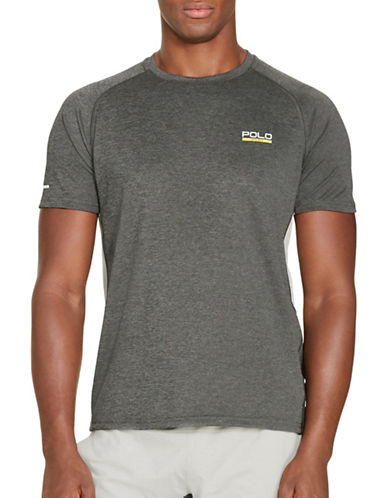Polo Sport Micro-Dot Jersey T-Shirt-BARCLAY HEATHER-X-Large 88543310_BARCLAY HEATHER_X-Large