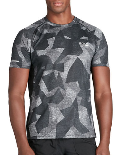 Polo Sport Micro-Dot Jersey T-Shirt-GREY-X-Large 88543435_GREY_X-Large
