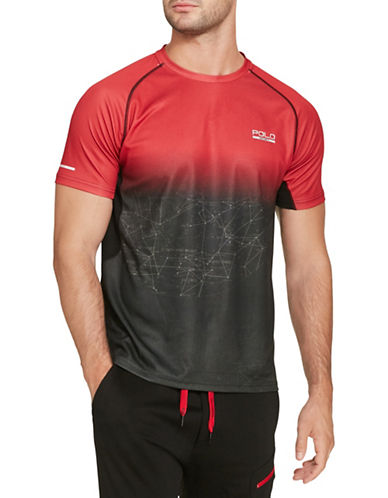 Polo Sport Micro-Dot Jersey T-Shirt-RED MU-Small 88543444_RED MU_Small