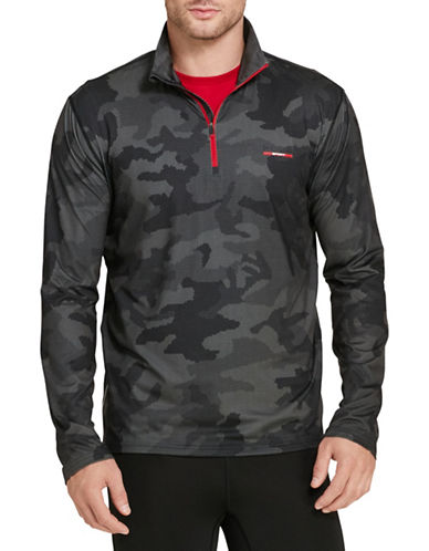 Polo Sport Camo Stretch Jersey Pullover-BLACK-Large 88543452_BLACK_Large