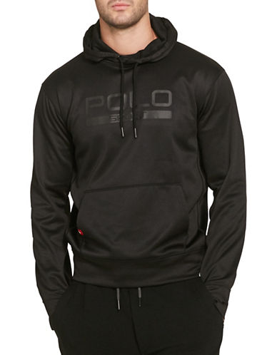 Polo Sport Fleece Graphic Hoodie-BLACK-X-Large 88543480_BLACK_X-Large