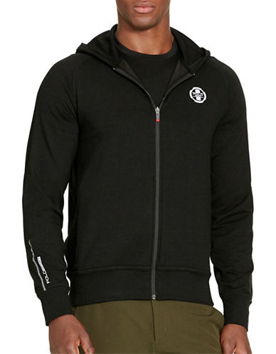 Polo Sport Terry Full-Zip Hoodie-POLO BLACK-X-Large 88543490_POLO BLACK_X-Large