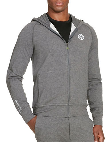 Polo Sport Terry Full-Zip Hoodie-BARCLAY HEATHER-Medium 88543498_BARCLAY HEATHER_Medium