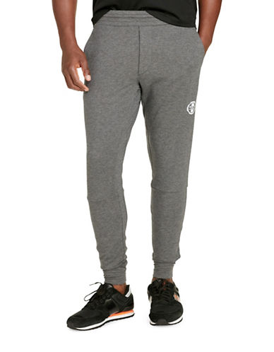 Polo Sport Lightweight Stretch Terry Pants-BARCLAY HEATHER-XX-Large